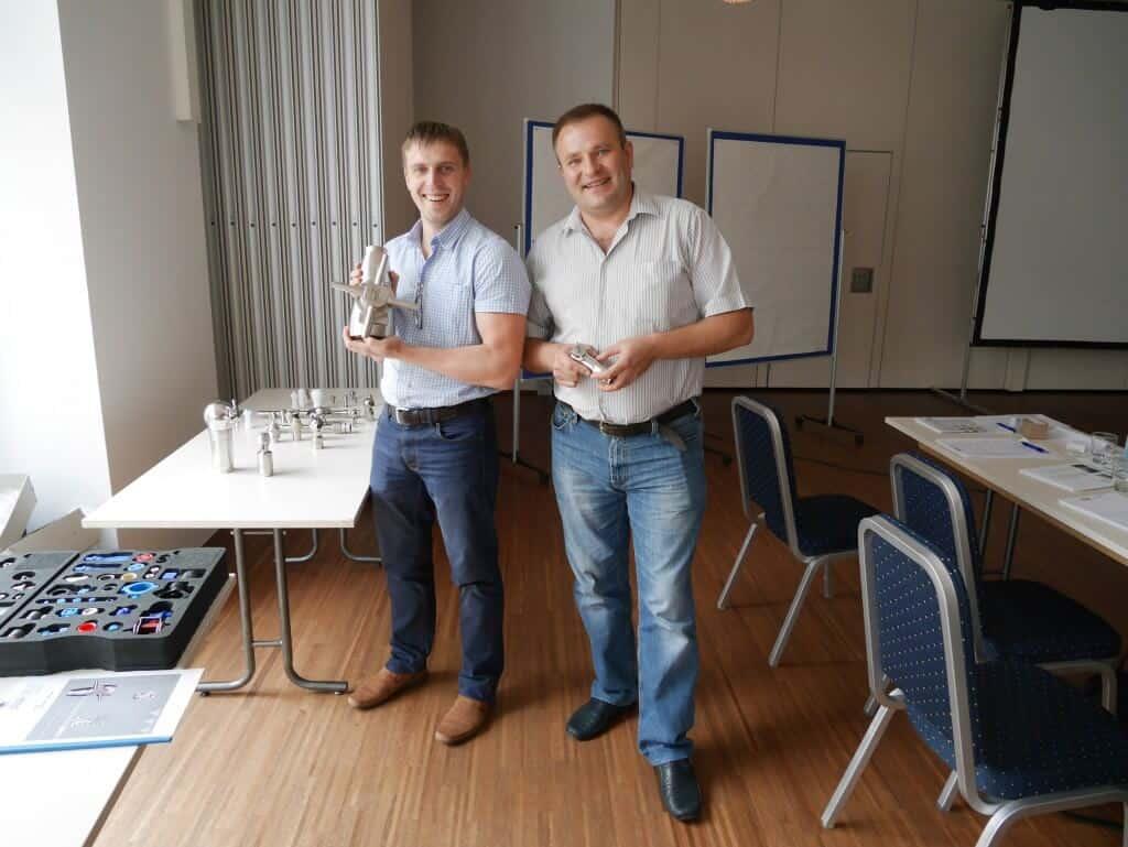 Наши специалисты на тренинге фирмы Lechler в Германии