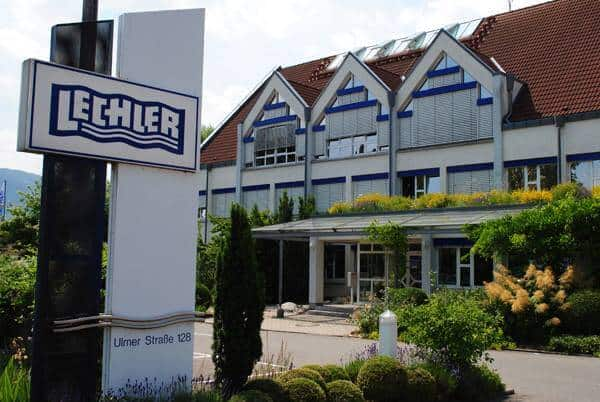 Старое офисное здание заводоуправления Lechler GmbH