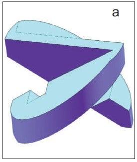 Х-образный завихритель форсунки