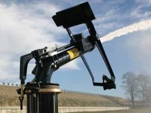 Дождевальная пушка для пылеподавления