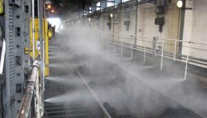 Система распыления сухого тумана