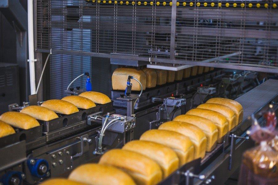 форсунка для сжатого воздуха на производстве хлеба