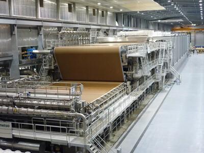 Линия по производству бумаги