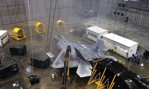 Ангар дождевания самолета