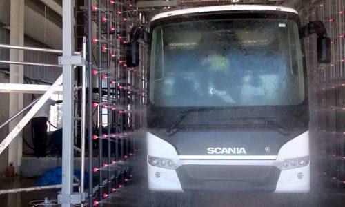 Дождевальная установка для автобусов