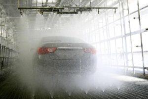 Дождевание машин Toyota