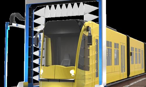 Мобильная установка дождевания вагонов