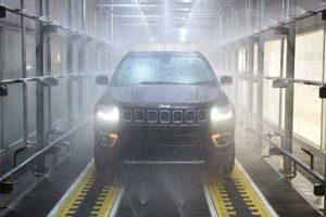 Тестирование протечек Jeep