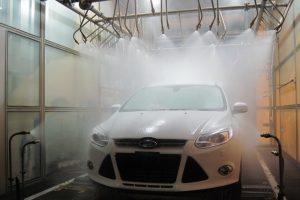 Тест на влагозащищенность Ford