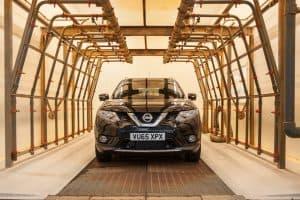 Shower test установка Nissan