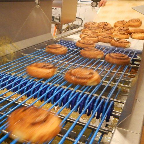 Нанесение покрытия на хлебобулочные изделия