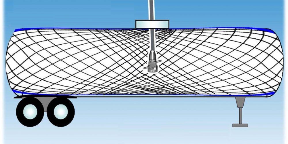 Схема движения струй моющей головки при ее вертикальном расположении