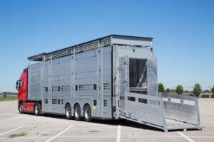 Скотовоз для перевозки свиней