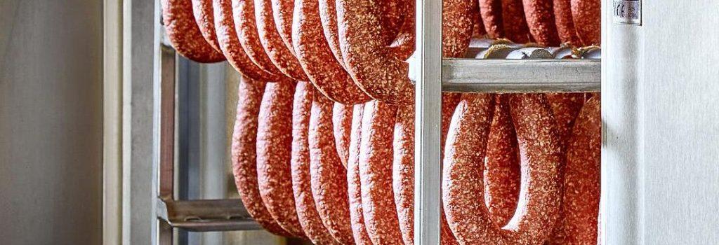Копченые колбасы бездымного копчения