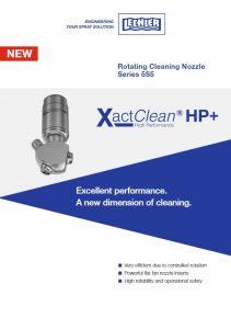Флаер по ротационной моющей головке серии 5S5 XactClean®HP+