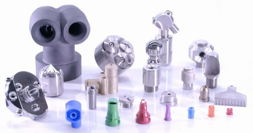 Форсунки Лехлер могут быть изготовлены из сотен типов материалов