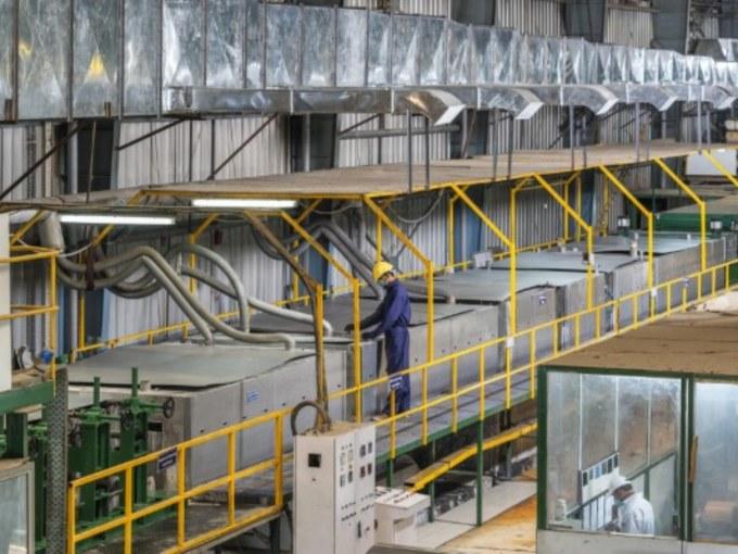 Агрегат химической струйной подготовки поверхности