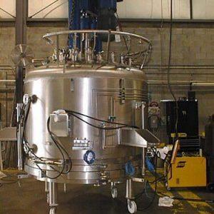 Распылительное кольцо внешней мойки реактора