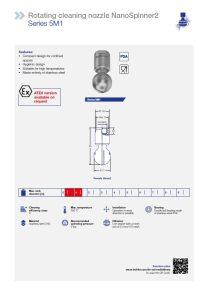 Раздел каталога, посвященный моющим головкам 5M1 NanoSpinner2