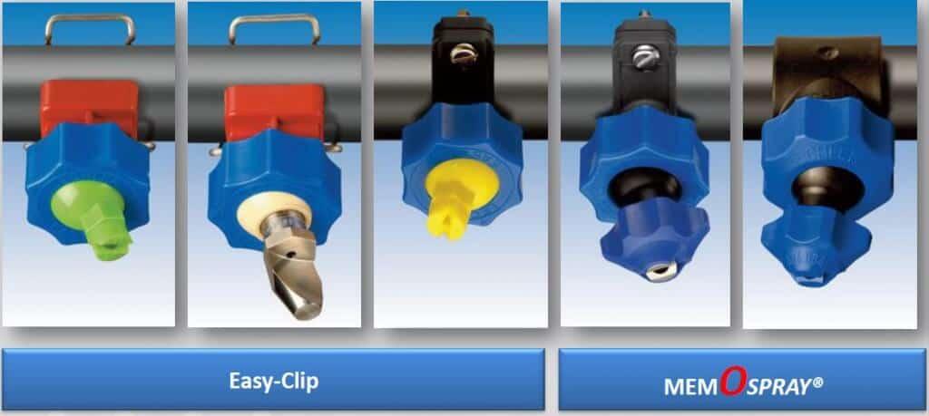 Распылительные системы Easy-Сlip и Memospray