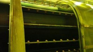 Охлаждение труб форсунками Lechler