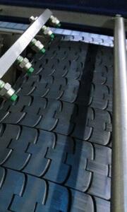 Смазка конвейерной ленты мокрым способом